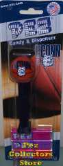 University of Connecticut NCAA Basketball Pez on Card