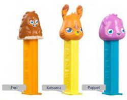 Moshi Monsters Pez set