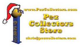 Pez Collectors Store wishes you Merry Christmas!
