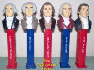 Presidents Pez Volume 1