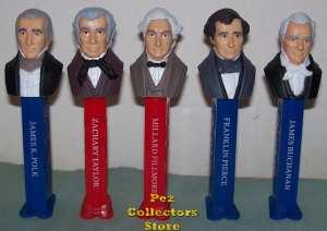 Presidents Pez Volume 3 loose