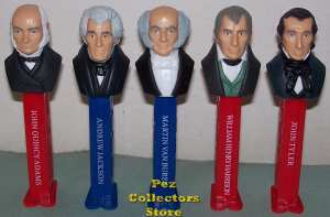 Presidents Pez Volume 2 Loose