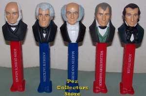 Presidents Pez Volume 2 Loose