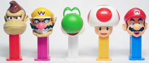 Super Mario Bros. Mini Pez set