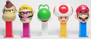 Super Mario Bros. Mini Pez set