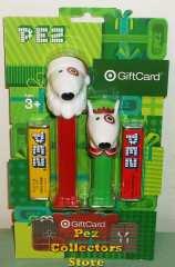 2013 Target Bullseye Spot Pez Gift Card