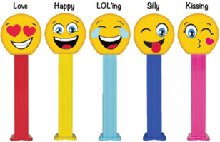 Emoji Pez with Names