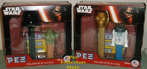 Star Wars Pez Twin Packs with new pez