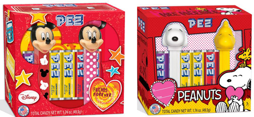 Valentine Pez Twin Packs