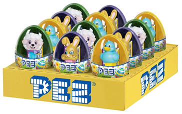 Mini Pez Easter Eggs Assortment