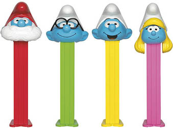Smurfs 3 Pez Assortment