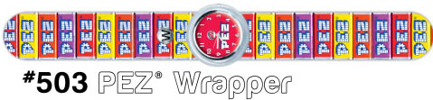 Pez Wrapper Watch