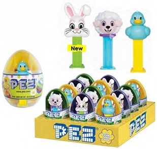 2018 Mini Easter Pez in Eggs
