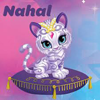Nahal the Cat from Shimmer and Shine