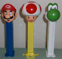 European Super Mario Pez Assortment