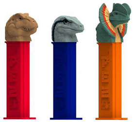 Jurassic World Dinosaurs Pez