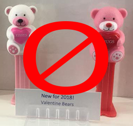 No Mini Valentine Bears for 2018