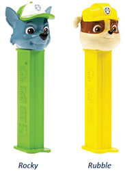 Rocky and Rubble Paw Patrol Pez