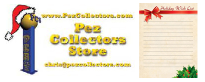 Pez Collectors Store Wish List