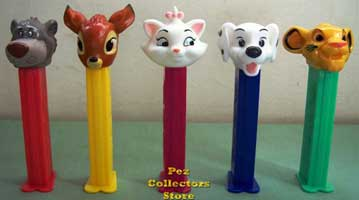 Disney Animal Friends Pez Set of 5