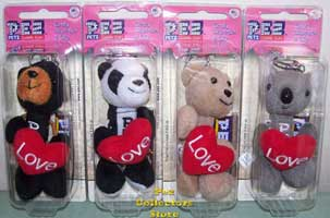 2009 Cuddle Cubs Pez Set of 4