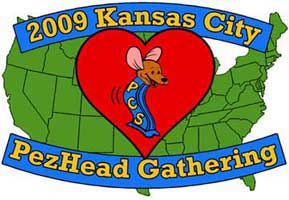 2009 Kansas City PezHead Gathering Logo