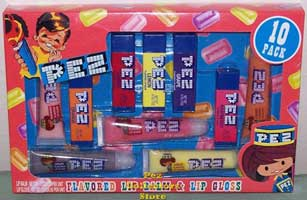 Pez Lip Balm and Gloss 10 Pack