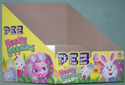 2010 Hippity Hoppities Pez Counter Display Box