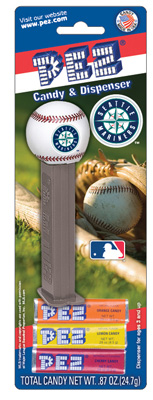 Seattle Mariners MLB baseball Pez