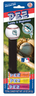Florida Marlins MLB baseball Pez