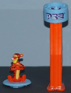 Tigger Click 'n Play Pez Top and Base