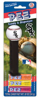 Chicago White Sox MLB baseball Pez