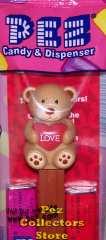 2011 Valentine's Day Teddy Bear Pez Dispenser