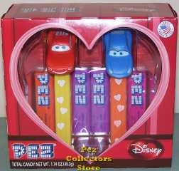 2011 Lightning and Sally Disney Couples Pez Gift Set