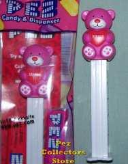 Pink Hugs Bear Pez