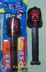Star Wars Phantom Menace Darth Maul Pez