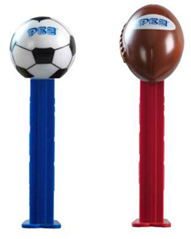 European Pez Sports Soccer and Football Pez