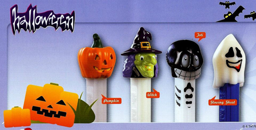 European Halloween Pez Set