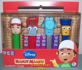 US Handy Manny Pez Gift Set