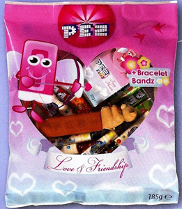 Love and Friendship Pez Bags