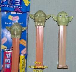 Star Wars Phantom Menace revised Yoda Pez