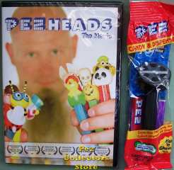 PezHeads the Movie and Pez Dispenser