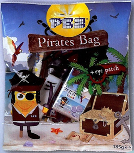 European Pez Pirates Bag