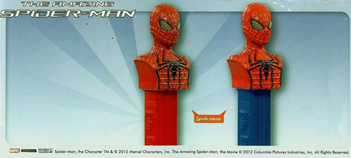 European Spiderman Pez
