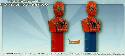 European Spiderman Pez