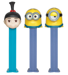 European Minions Pez Set