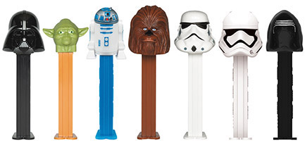 Star Wars pez assortment