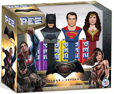 Batman v. Superman Dawn of Justice Pez boxed Set