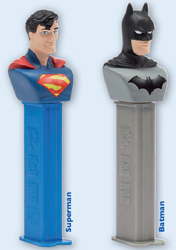 2016 European Superman and Batman Pez