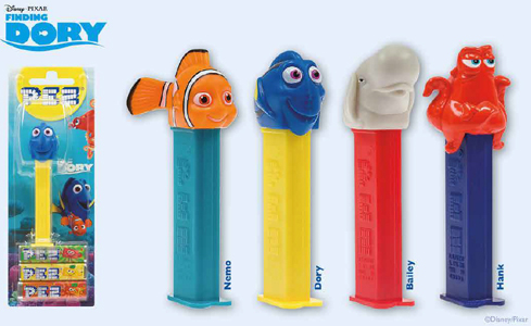 European Finding Dory Pez Set